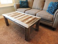 46 Fantastic Coffee Table Decor Ideas With Rustic Style - Page 37 of 46 - Decorating Ideas - Home Decor Ideas and Tips Wooden Coffee Table Designs, Reclaimed Wood Coffee Table, Rustic Coffee Tables, Diy Coffee Table, Coffee Table With Storage, Decorating Coffee Tables, Outdoor Wood Furniture, Furniture Near Me, Furniture Ideas