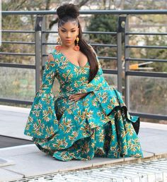 2019 Beautiful And Befitting Ankara Styles to rock your weekend African Inspired Fashion, African Print Fashion, Africa Fashion, African Prints, African Attire, African Wear, African Dress, African Clothes, African Prom Dresses
