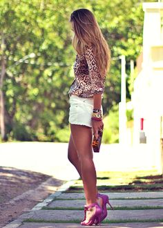 Shorts Branco Jeans