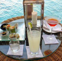 MHBD's Blog: Sundowners Cocktail hour at the Lighthouse, Baros, Maldives Travel Centre Maldives // info@tcmaldives.com // www.travelcentremaldives.com // www.tcmaldives.com