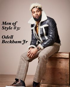 Although the first picture is one from GQ magazine he got there for a reason; he's a man of style. OBJ has been a fashion enthusiast since he entered the limelight. Everywhere from showing up to MetLife Stadium on Sundays to court side seats at the NBA Finals Odell Beckham Jr. is always sauced up.    His colorful personality matches his vibrant and outgoing fashion sense. While he is mostly seen in the latest streetwear trends he is known to go a little more on the formal side from time to…