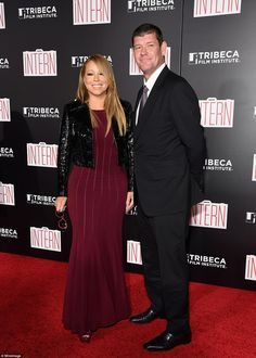 Mariah Carey and James Packer got engaged yesterday in New York. Don't they look happy?