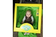 Fantasia perfeita para o Carnaval! Assim o bebê fica fantasiado no carrinho!