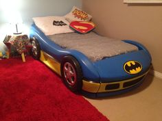 Excellent Batman Car Bed With Diy Batmobile Toddler Bed
