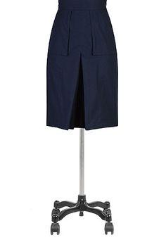 a7540770b28e5 I  lt 3 this Cargo pocket poplin skirt from eShakti Skirts With Pockets