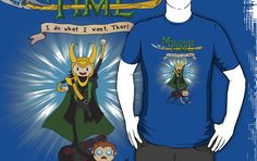 In my quest for a Loki shirt, I found this glorious thing.