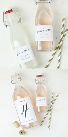 These bottle labels are to die for! And they're FREE. Love this!! #swellandgrand http://www.swellandgrand.com/product/wine-bottle-label-228