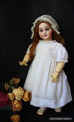 Моя француженка DEP / Винтажные антикварные куклы, реплики / Бэйбики. Куклы фото. Одежда для кукол