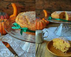Hoje para jantar ... Pumpkin cake