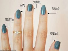 36 amazing manicure hacks you should know - nails - . 36 amazing manicure hacks you should know – nails – # Manicure Hacks Nail Art Designs, Short Nail Designs, Simple Nail Designs, Different Nail Shapes, Nail Tip Shapes, Acrylic Nail Shapes, Squoval Acrylic Nails, Nail Shapes Squoval, Types Of Nails Shapes