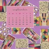 Sweet Caroline Designs Desk Calendar 2016 September