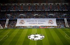 Hasta el final ¡VAMOS REAL! Santiago Bernabeu (Champions League 2012)