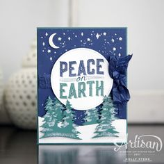 Welcome to the Stampin' Up! Artisan Design Team blog hop with a special sneak peek of a new Christmas bundle.  Carols of Christmas and the...