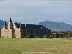 Oudtshoorn Castles, South Africa, Cape, African, Mountains, Mansions, Country, House Styles, Travel