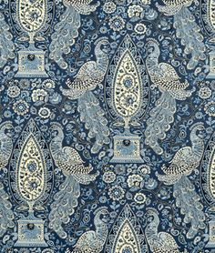 Waverly Jewel Tower Blue Jay $21.65 / Yard or Less