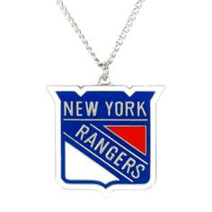 New York Rangers Pendant Necklace