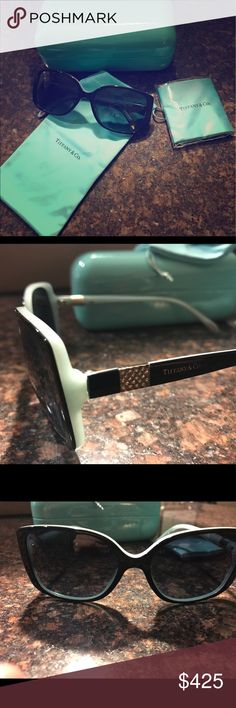 Tiffany & Co. sunglasses w/ swarovski crystals Tiffany & Co. sunglasses w/ swarovski crystals. Condition: Perfect! Tiffany & Co. Accessories Sunglasses