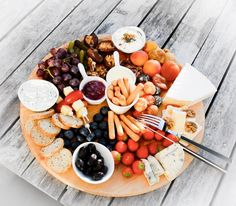 This Cheese platter  will be up on my channel in a few hours  Edit: the video is now live!  #sneakpeek #cheese #cheeseplatter #cheeseplate #cheeseboard #fruits #veggies #nuts #crackers #spreads