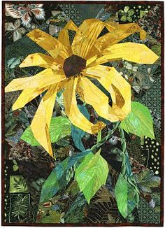 "Ann Harwell ' s 	 Gloriosa Daisy  30""h x 22""w   The Gloriosa Daisy is probably better known as the Black-eyed Susan."