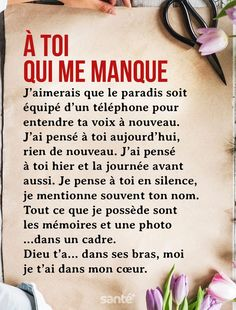 A thought for Mom 💙🦋 - A thought for Mom 💙🦋 - Missing Quotes, Life Quotes Love, This Is Us Quotes, Best Quotes, Famous Quotes, Image Citation, Quote Citation, Tu Me Manques, Great Short Quotes