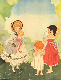 Joyce Brisley (English author & illustrator,1896-1978) Most known for Milly, Molly, Mandy books.