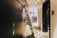 Hallway floor patterns