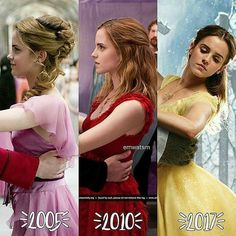Emma Watson over the years, sweet and elegant, star of Harry Potter and Beauty and the Beast, a modern classic beauty. Estilo Harry Potter, Harry Potter Ron Weasley, Mundo Harry Potter, Harry Potter Puns, Harry Potter Feels, Theme Harry Potter, Harry Potter Tumblr, Harry Potter Pictures, Harry Potter Characters