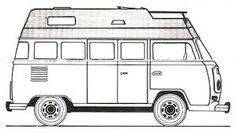 Image result for kombis transformadas em trailer