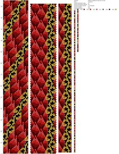 22 around bead crochet rope pattern Bead Crochet Patterns, Bead Crochet Rope, Seed Bead Patterns, Crochet Bracelet, Beading Patterns, Beaded Crochet, Seed Bead Earrings, Beaded Earrings, Bead Earrings