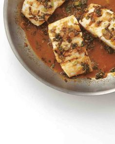 Braised Fish with Orange and Soy...made with haddock / no scallions