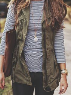 Love vest.shirt.necklace and watch/bracelet mix too