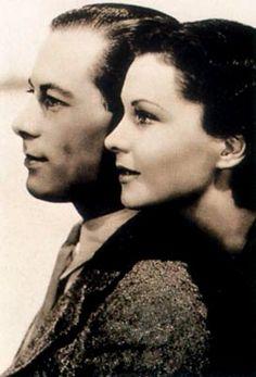 Rex Harrison and Vivien Leigh