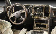 Camouflage Interior - My kinda truck.