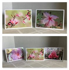 Bridesmaid Gifts. Floral Art Folded Notecards. Choose Set of