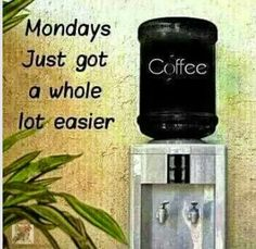 Mondays just got a whole lot easier / Coffee Shop Stuff Coffee Talk, Coffee Is Life, I Love Coffee, Coffee Break, Best Coffee, Morning Coffee, Coffee Shop, Coffee Lovers, Coffee Quotes