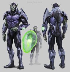 Canceled Skrull-Filled 'Avengers' Project Yields Tons Of Awesome Concept Art By Jeremy Love