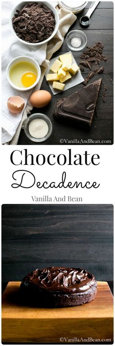 Chocolate Decadence | Vanilla And Bean (Use Frontier Vanilla Flavoring or Homemade Vanilla Extract made with a potato or grape based vodka, and use corn free confectioners' sugar from Whole Foods or Trader Joe's to make corn free.) #glutenfree