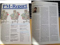 """Ich freue mich über die Veröffentlichung meines Fachbeitrags in der Pharma Fachzeitschrift PM-Report 4/16 """"Online-PR mit Content Marketing in der Pharmakommunikation""""."""