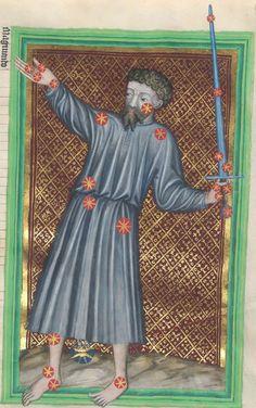 Astrologische Handschrift für König Wenzel IV. von Böhmen 14. Jh. Clm 826 Folio 36