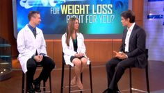 Dr. Emma on The Dr. Oz show, discussing her hCG protocol.