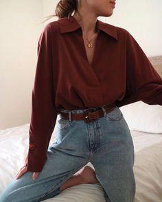 Alternatives au shopping Fast Fashion - tenues de style de mode durable écologique style vintage Vous êtes à la bonne adresse pour diy No - Fashion Moda, Fast Fashion, Look Fashion, Autumn Fashion, Trend Fashion, Fashion Women, Fashion Ideas, Jeans Fashion, Celebrities Fashion