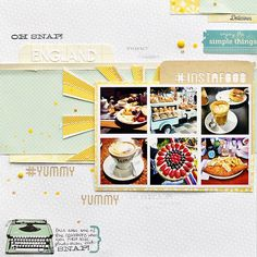 Layout by Kasia with the May 2013 kits by Citrus Twist