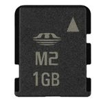 [USD6.84] [EUR6.45] [GBP5.03] M2 Memory Card 1GB