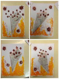 Diy And Crafts, Crafts For Kids, Paper Crafts, Halloween Boo, Halloween Crafts, Autumn Activities, Preschool Activities, Easy Halloween Decorations, Autumn Crafts