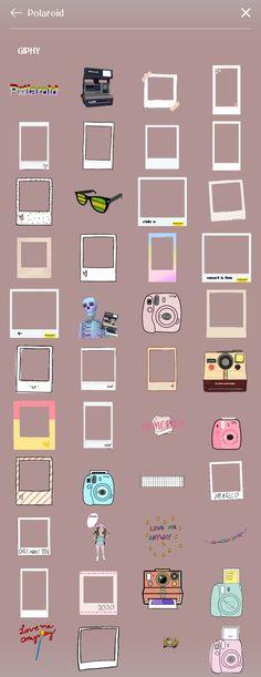 Instagram Emoji, Iphone Instagram, Instagram And Snapchat, Instagram Blog, Instagram Story Ideas, Instagram Quotes, Organizar Instagram, Instagram Editing Apps, Instagram Frame Template