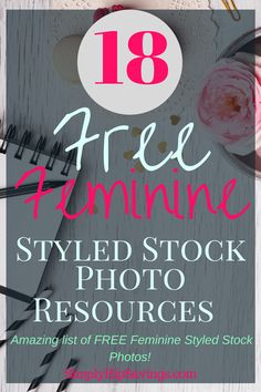 Check out this Extensive list of Free Feminine Styled Stock Photos! Use the Free Photo Resources to Style your Blog Graphics! Did I say these are FREE Styled photos?! What are you waiting for? Head over to my site and snag all the Free Photo Resources! www.simplyhipsavings.com