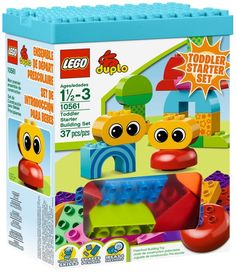 LEGO Duplo 10561 City Creative Toddler Starter Building Set NEW Factory Sealed $46.23