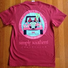 Simply Southern Jeep Shirt Brand new. Price is firm unless bundled Simply Southern Tops Tees - Short Sleeve