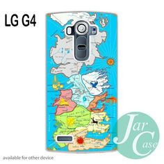 Game of Thrones Map in Colour Phone case for LG G4 and other cases