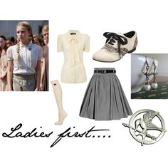 Primrose Everdeen inspired by The Hunger Games. Kinda cute